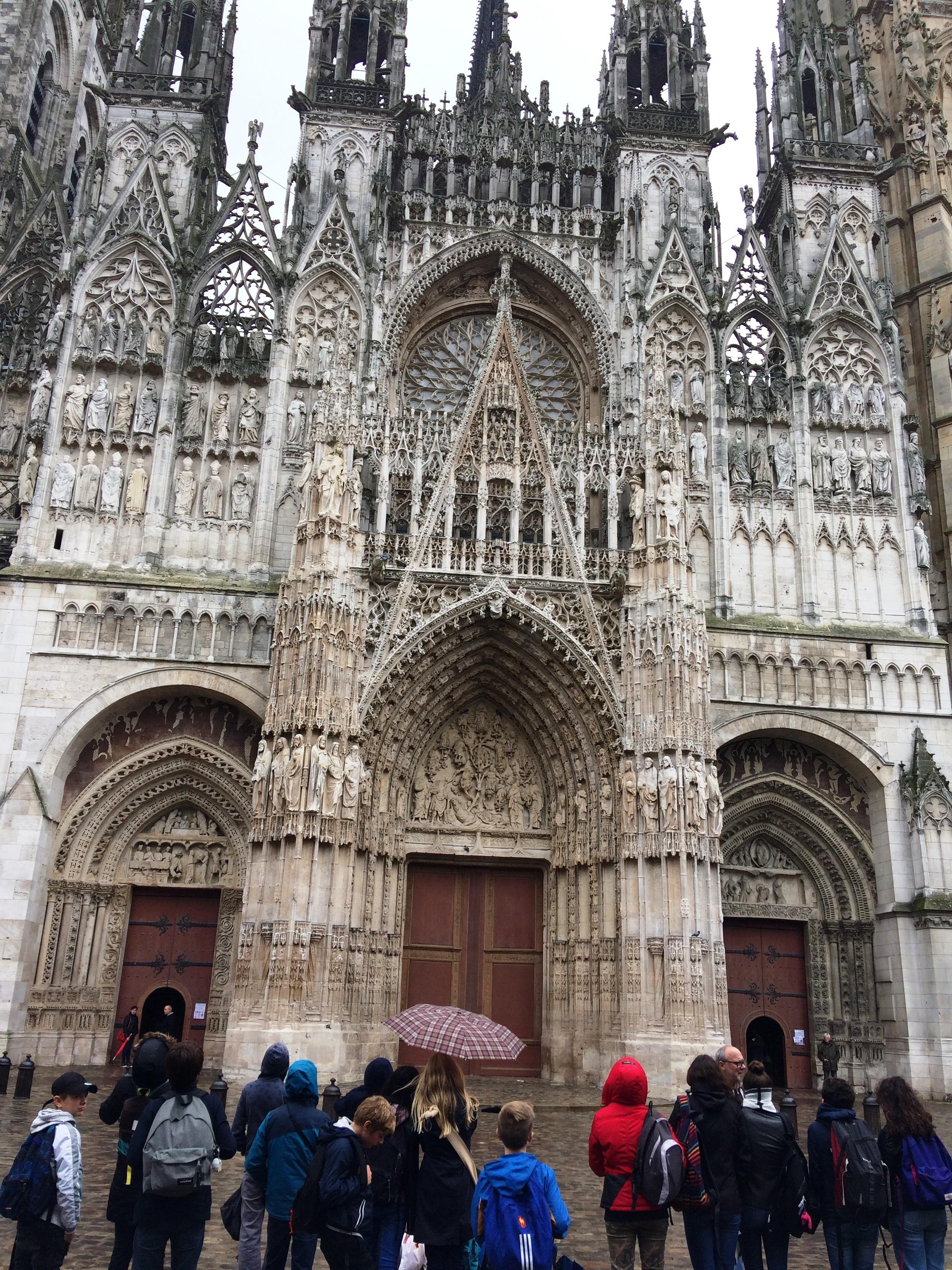Photo 3 Rouen avec les 5èmes